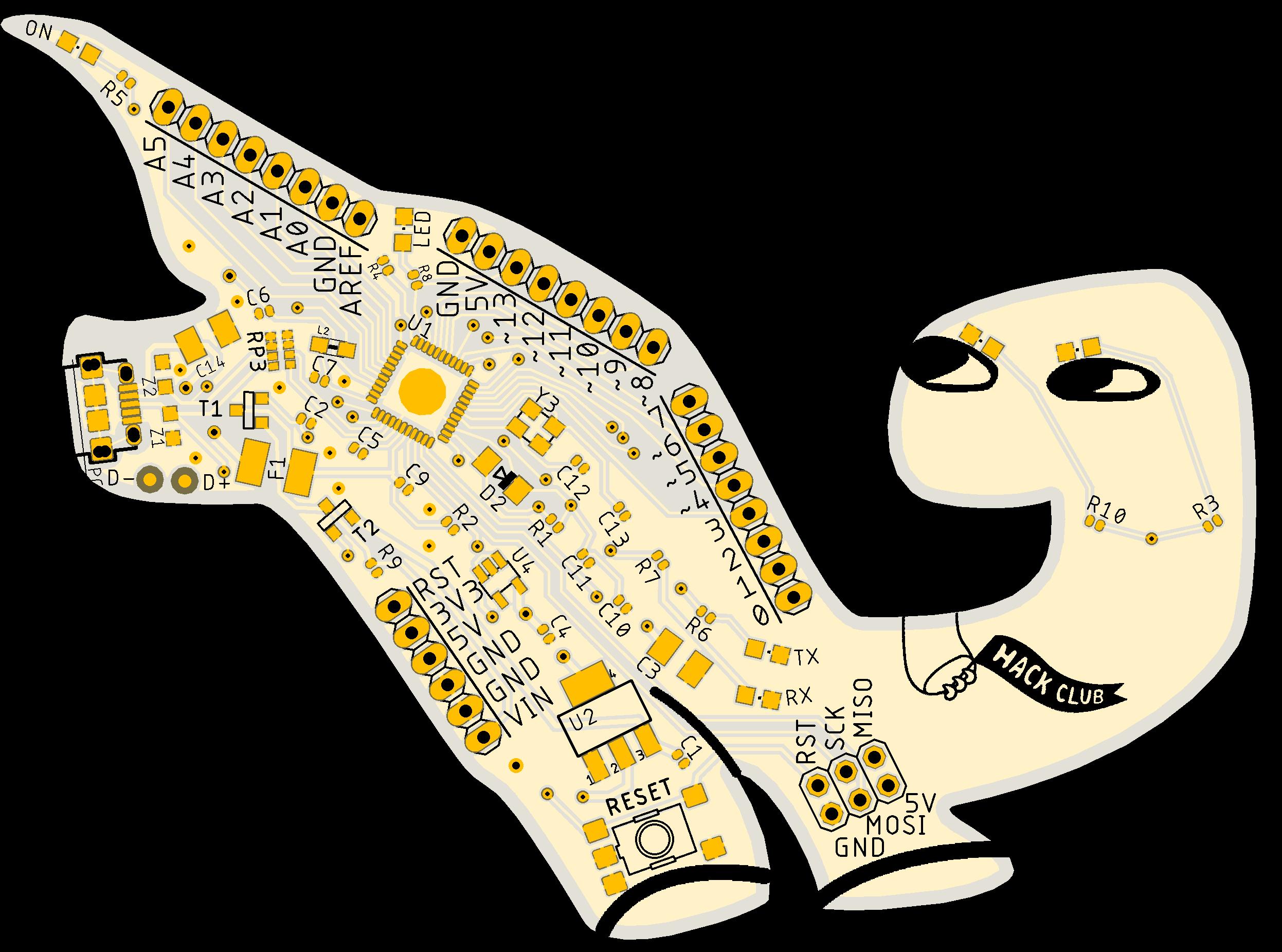 Orpheus Leap PCB